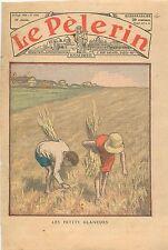 Wheat field Champ de Blé les Petits Glaneurs Gerbe de Blé France  1936