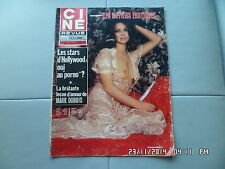 CINE REVUE N°1 1/1/1976 GIOVANNA RALLI ANNA KARINA BASIL RATHBONE R.SHAW     G70