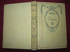 CARMEN - PROSPER MERIMEE - NELSON - 1927