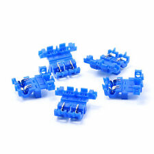 Blue Splice Inline Self Stripping ATO ATC Fuse Holder Assembly 5 Pack