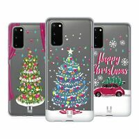 HEAD CASE DESIGNS MERRY CHRISTMAS TREES GEL CASE FOR SAMSUNG PHONES 1