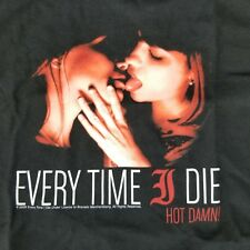Every Time I Die Men's Med T-Shirt Hot Damn Licensed Tour Metal Core Band Merch