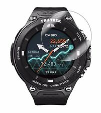 4x Screen Protector Full cover of the glass, Casio Pro Trek Smart WSD-F20 Watch