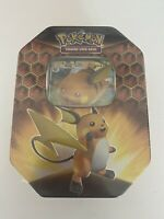 Pokemon TCG Hidden Fates Tin Raichu GX - Brand New And Sealed!!!