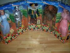 NRFB - BEAUTIFUL WIZARD OF OZ 16 to 18 INCH DOLL SET OF 5 BY TREVCO