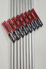 KBS TOUR C-TAPER 120, S Flex .355 Taper, UnCut, Iron Shafts, for 3-PW, 8 shafts