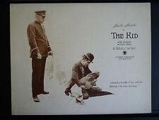 1921 THE KID - CHARLIE CHAPLIN SILENT CLASSIC - RARE VINTAGE LOBBY CARD - COMEDY
