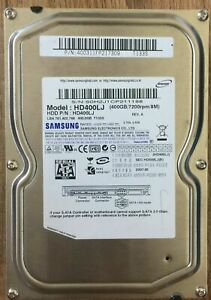 Samsung 400GB 3.5'' Sata Internal Hard Drive HDD Desktop PC