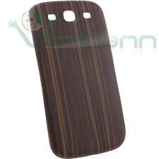 Cover copri batteria effetto LEGNO per Samsung Galaxy S3 i9300 copribatteria