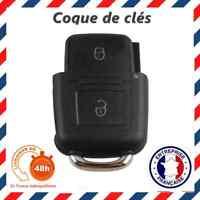 Clé Coque Clef 2 Bouton VW Golf 4 Jetta Bora Passat Polo Seat Leon Skoda Octavia