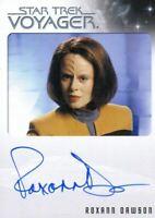 Star Trek Voyager Heroes & Villains Autograph Card Roxann Dawson as B'Elanna Tor