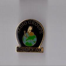 Pin's cibie CB / Radio groupe - Charly Fox (époxy)