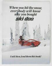 1988 SKI-DOO SNOWMOBILE Dealer Full Line Advertising Sales Brochure Catalog OEM