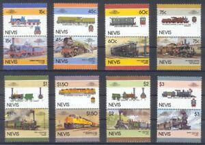 Nevis Satz 6 Train / Eisenbahn / Loco 100 Leaders of the World **