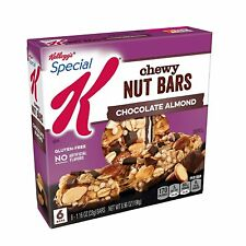 Kellogg's Special K Chewy Nut Bars Chocolate Almond Gluten Free (3 Pack) 18 Bars