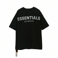 Los Angeles Limited FOG Fear oF God Essentials 3M Reflective T-Shirt SIZE S-XL