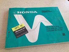 Honda TRX350 G TRX 350 fourtrax 4x4 parts list liste catalogue pièce détachée