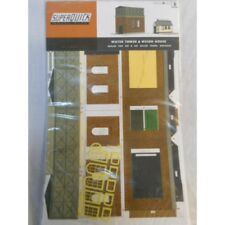 ** SuperQuick A8 Water Tower & Weigh House Card Kit  OO/HO Scale