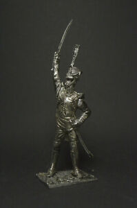 Tin soldier figure Chief officer grenadier company of the line regiment 54 mm