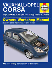 4886 Haynes Vauxhall/Opel Corsa (Sept 2006 - 2010) 56 to 10 Workshop Manual