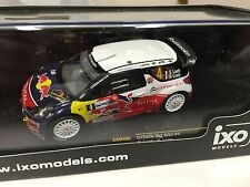 CITROEN DS3 WRC #4 Loeb Monza  2011 1:43 IXO RALLYE-DIECAST-RAM466