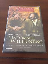 EL INDOMABLE WILL HUNTING - ED 1 DVD - 121 MIN - NUEVO, EMBALADO - NEW, SEALED