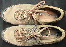 Merrell Women's Mimosa Glee Walking Athletic Shoes Kangaroo SZ 7.5 EXCELLENT