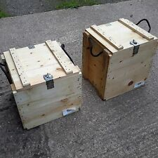 Packing case Wooden case Storage solution Wooden crate Job lot Shipping crate
