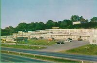 Vintage Antique Postcard Canada Canadian Motel Raphael Montreal West Old Cars