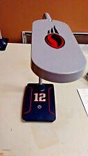 NFL LED USB DESK LAMP NEW ENGLAND PATRIOTS TOM BRADY #12 JERSEY DESIGN NEW !