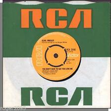 """Elvis Presley -- You Don't Have To Say You Love Me + Patch It Up -7"""" UK Single!"""