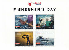 Maldives 2016 MNH Fishermen's Day Fishing Industry 4v M/S Fish Boats Stamps
