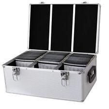 DynaSun CD 510 DVD DJ Vuelo Caja Aluminio Sujetador Disco Caja Almacenamiento