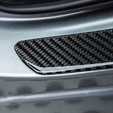 Universal Door Sill Carbon Fiber Car Scuff Plate Cover Panel Step Protector PP