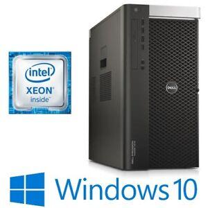 Dell Precision T7910 Dual 8 Core Xeon E5-2640v3 64G 256G 1TB Quadro M2000 Win 10