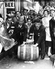 """Roll Out The Barrel Prohibition 8"""" - 10"""" B&W Photo Reprint"""