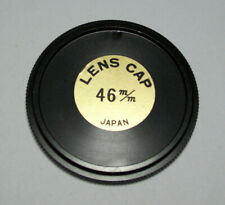 VINTAGE 46MM SCREW IN METAL FRONT LENS CAP MADE IN JAPAN -FREE SHIPPING-