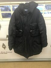 Black Polo Ralph Lauren Madison Down Parka Jacket Black Mens Sz XXLarge