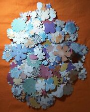 Craft Work Cards - Pre Cut Flowers & Leaves - Lots Of Them! Excellent Condition