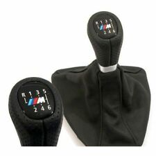 Zubehör BMW 1er  3er E90  E87 M Schaltknauf Sportschaltknopf Lochleder 6 Gang