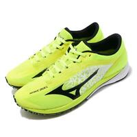 Mizuno Wave Duel Volt Yellow Black White Men Running Shoes Sneakers U1GD1960-02