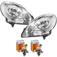 Scheinwerfer Set für Renault Kangoo Bj. 08->> H4 inkl. PHILIPS Lampen