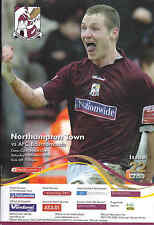 2006/07 NORTHAMPTON TOWN V BOURNEMOUTH 10-03-2007 League 1 (Excellent)