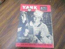 YANK THE ARMY WEEKLY MAGAZINE MAR 16 1944 No 39 ORIGINAL WORLD WAR 2 TWO