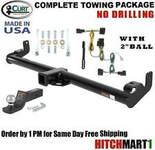 FITS 1998-2006 JEEP WRANGLER CLASS 3 CURT TRAILER HITCH PACKAGE w/ FUSION MOUNT
