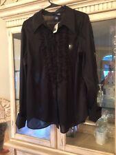 Venezia Jeans clothing  Black sheer blouse 👚 Blouse Size 18/20