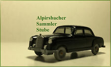 A.s.s Wiking edad Mercedes MB 220 negro GK 140/5a CS 374/1b 1.w Top