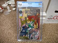 Metal Men 1 cgc 9.6 DC 1993 Metallic FOIL cover WHITE pgs COOL comic NM MINT