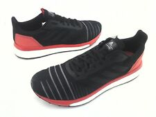 ADIDAS Boost Running Shoes Solar Drive Black Red White AC8134 Mens New