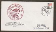 USS Hawkbill SSN 666 June 12 1984 (sub9184)